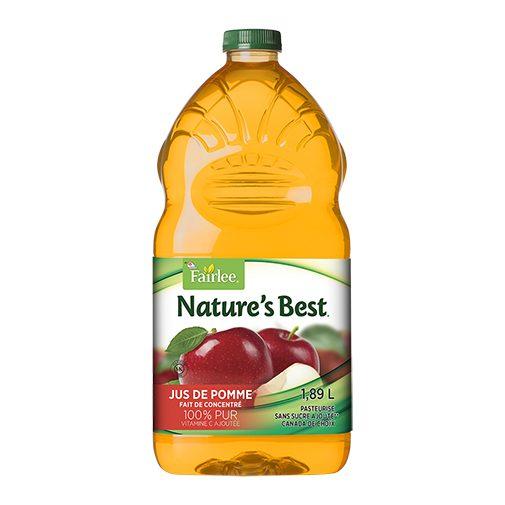 Jus natures best pomme 6×1.89 L