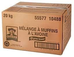 Mélange muffin gruau quaker (20kg)