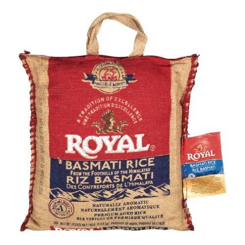 Riz basmati royal 4.54 Kg