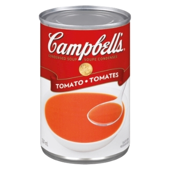 Soupe tomate campbell