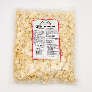 Mini ravioli au fromage