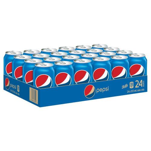 Pepsi caisse de 24