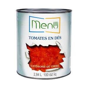 Tomates en dés - Canne