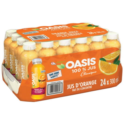 Jus orange oasis 24x300ml