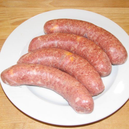 Saucisse Bacon Cheddar 6x450g