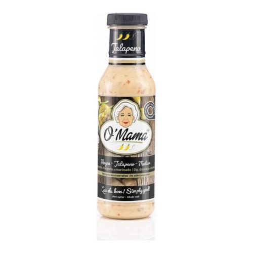 Vinaigrettes O'mama jalapeno moyen 350 ml