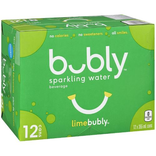 Bubly lime 12x355ml