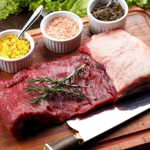 bavette de bœuf marinée frais