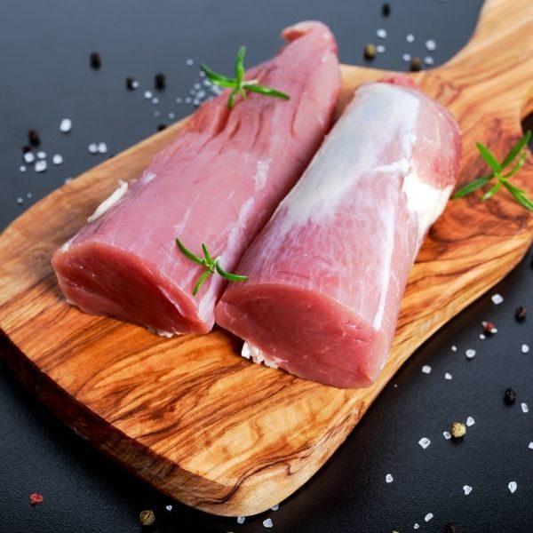 Filet de porc congelé