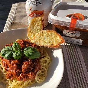 Sauce spaghetti à la viande 1L trappe à fromage