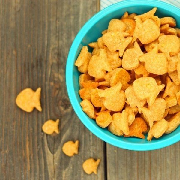 Biscuit Goldfish au cheddar