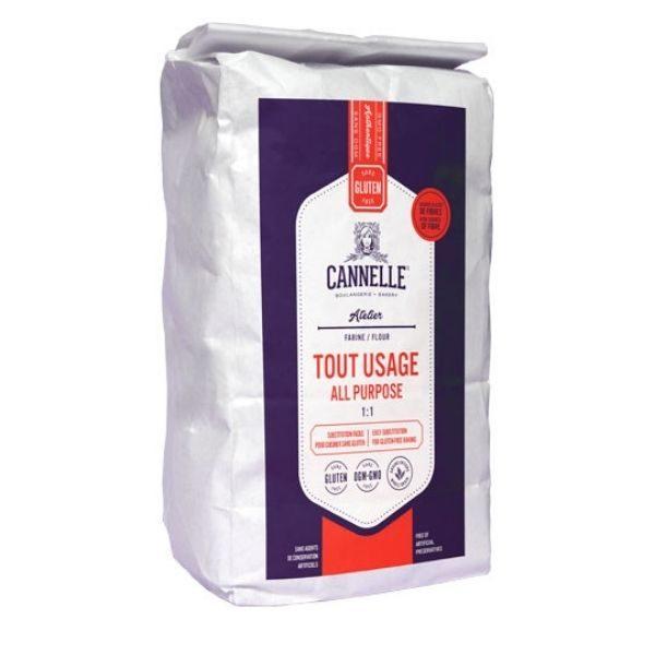Farine tout usage sans gluten, Boulangerie Cannelle (2kg)
