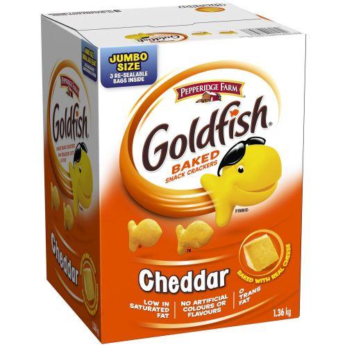 Biscuit Goldfish au cheddar 1.36kg