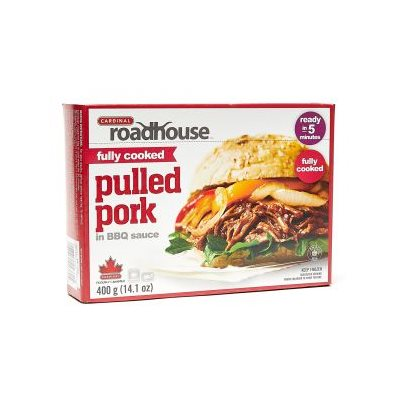Roadhouse pulled pork w bbq sauce 400g