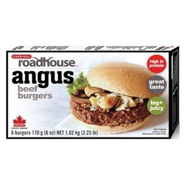 roadhouse angus burger boite de 6
