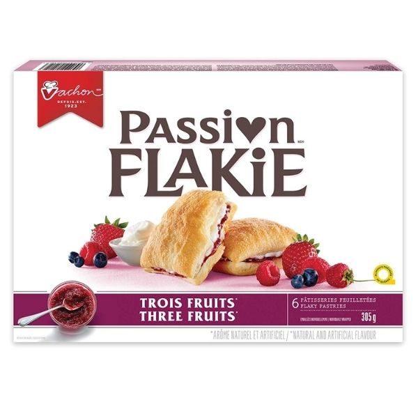 Passion Flakie aux trois fruits - Vachon - Boîte de 6