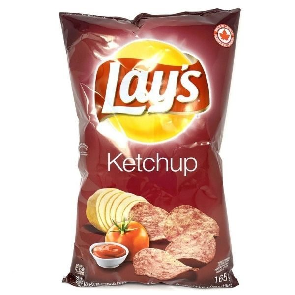 Croustille Lays Ketchup 165g